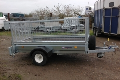 New Indespension unbraked  trailer