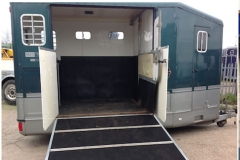 Equi-trek night treka horse trailer