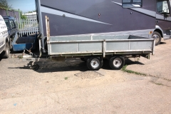 Indespension dropside trailer